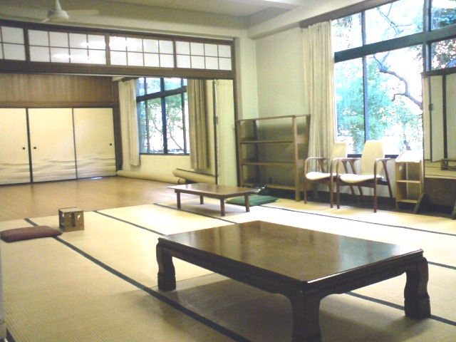 Japanese's style room and floor stage